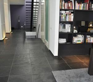 Leisteen vloer woonkamer