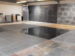Natuursteen vloer en tegels