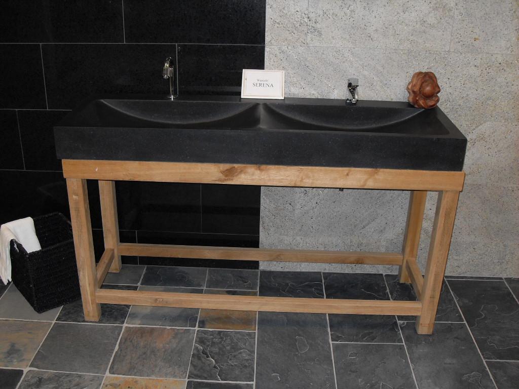 Natuurstenen wastafels waskommen belgisch hardsteennatuursteen
